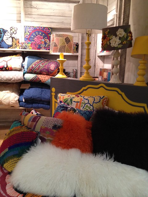 Anthropologie shopping home decor bright bold and for Anthropologie store decoration ideas