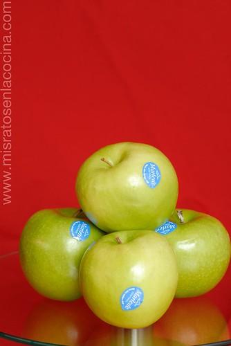 Muestra de manzanas Marlene