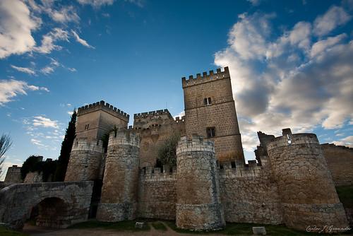 Castillo de Ampudia by Carlos_JG