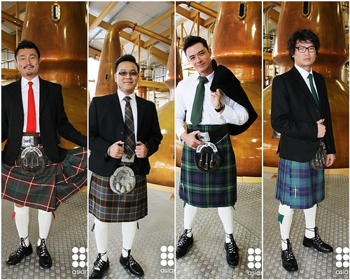 AFC Great Dinners of the World - 4 Asian Chefs in Kilts