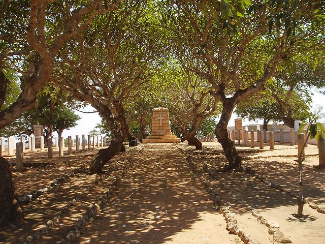 CWGC photograph of Pemba Cemetery