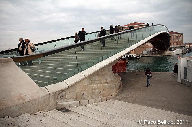 Ponte della Costituzione. © Paco Bellido, 2011