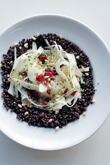 Lentils, Parsnip and Cranberries