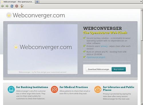 Webconverger 10