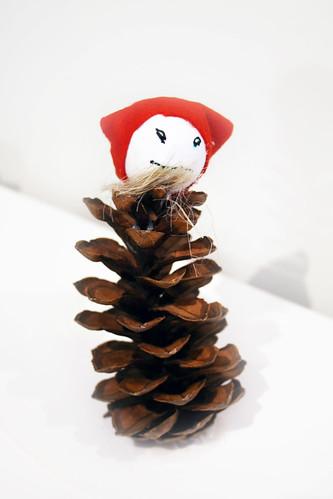 Pine cone gnome