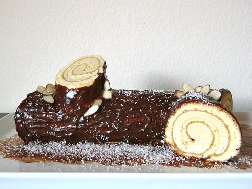 Log Cake Recipe Joy Of Baking: Bûche De Noël