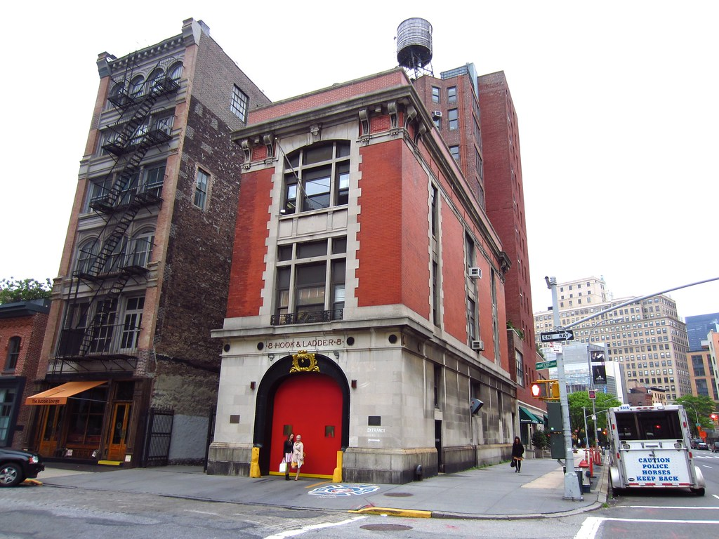 NYC: Ghostbusters Fire Station