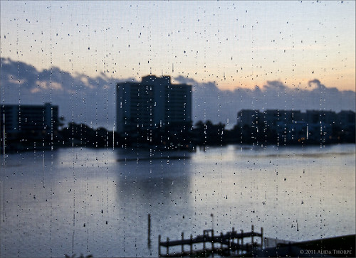 Rain on screen by Alida's Photos