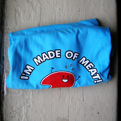 5 i'm made of meat t-shirt