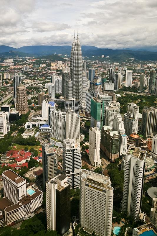 Kuala Lumpur from Menara tower