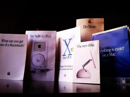 Apple old brochures