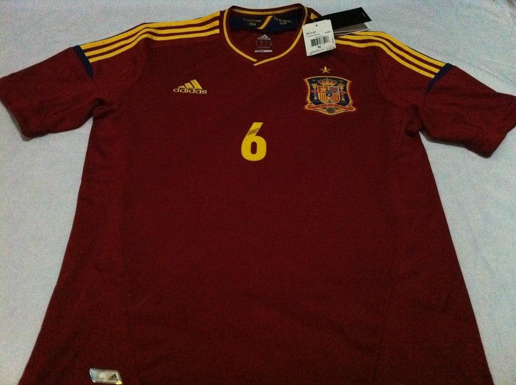 Camisa Selección de España, Euro 2012