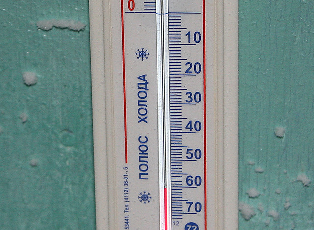 -61 degrees Celsius in Oymyakon