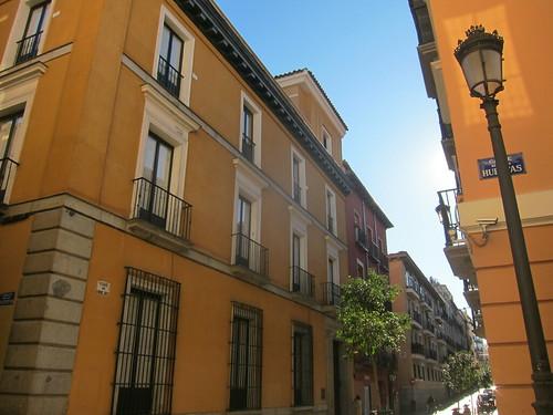 Calle Huertas, Barrio de las Letras. Madrid