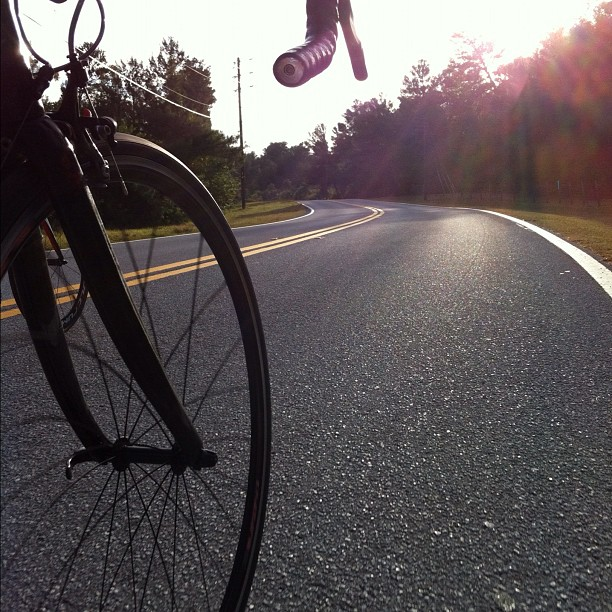 Got another 3hrs, 63miles in & made a new Largo riding buddy. #festive500 #day2