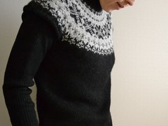 Fair Isle Yoke Sweater