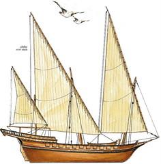 bateau corsair de Salé