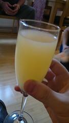 Champagne cocktail dear?