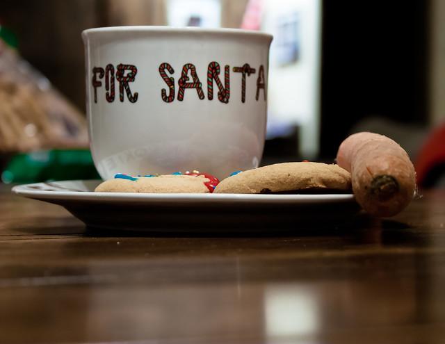 358:365, Milk and Cookies for Santa