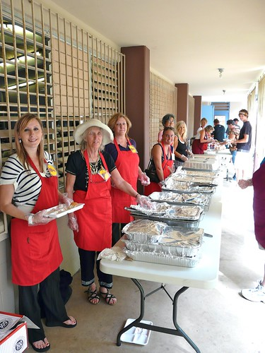 "2011 ""Feed The Hungry"" Thanksgiving Dinner served 200+ people this year. Thanks for your help, volunteers!"