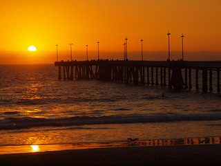 Venice Beach Pier | Sunset | PC183751