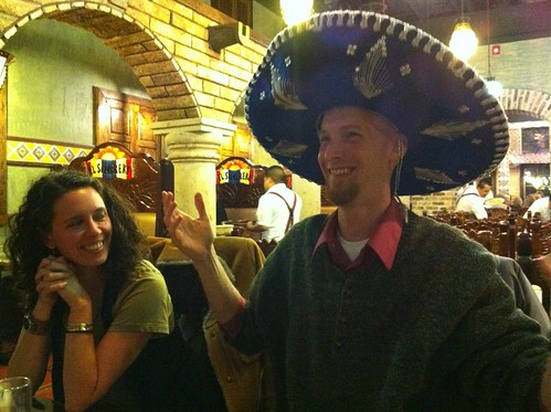 Christopher's Birthday at El Sombrero