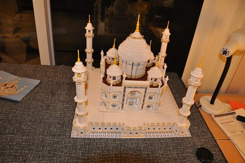 The Taj Mahal is completed by Xymon