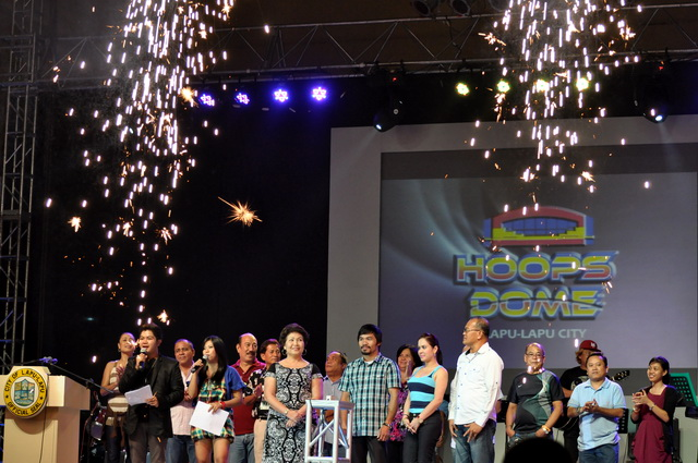 Hoops Dome Lapu-Lapu Mactan Manny Pacquiao