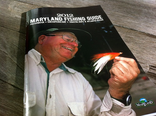 December 2011 backwater angler for Md fishing license
