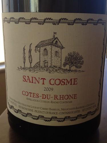 Saint Cosme Cotes du Rhone