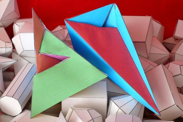 Nueva imagen del poliedro del Császár: lasucu