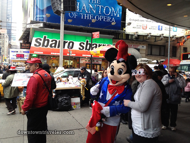 NYC Times Square New Years Eve 2012_Mickey Mouse