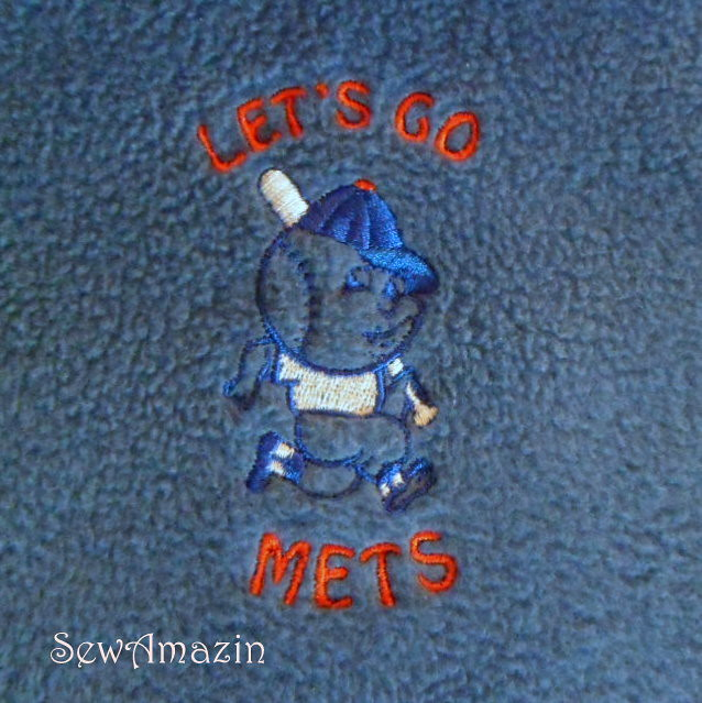Mr. Met Fleece Scarf