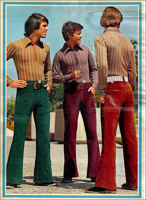 70s Bell Bottoms for Men