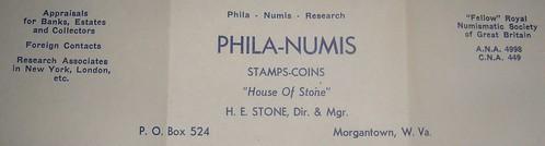H.E. Stone letterhead closeup
