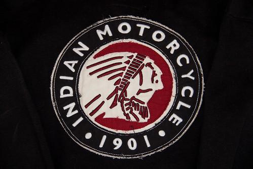 Indian Motorcycle Logo Hoodie (back)
