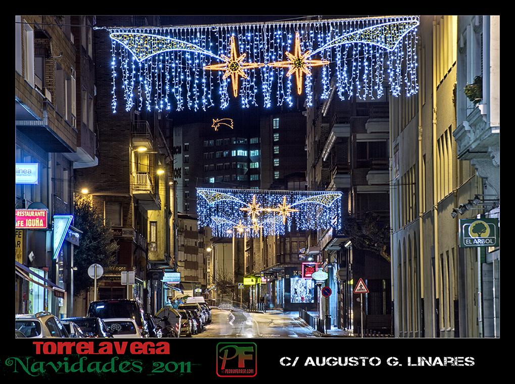 Torrelavega - Augusto G. Linares  - Navidades 2011