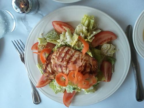 Caesar salad at Paradiso Trattoria
