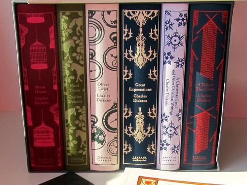 Christmas Book Loot, Dickens