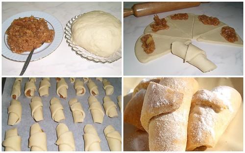 elmalı kurabiye yapılışı