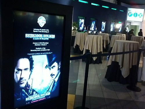 Im too early for the sherlok holmes 2 movie premiere by popazrael