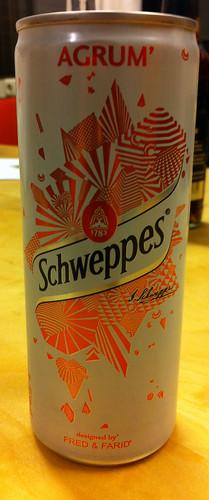 Schweppes - Agrum 1 by softdrinkblog