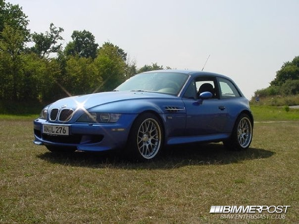 2001 Z3 M Coupe | Estoril Blue | Black