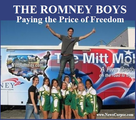 Romney Cheerleaders