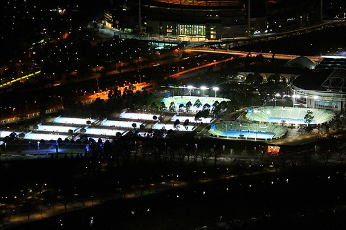 Australian Open at Night