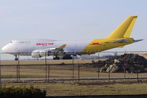 Kalitta Air (DHL) Boeing 747-446(BCF) (N743CK)