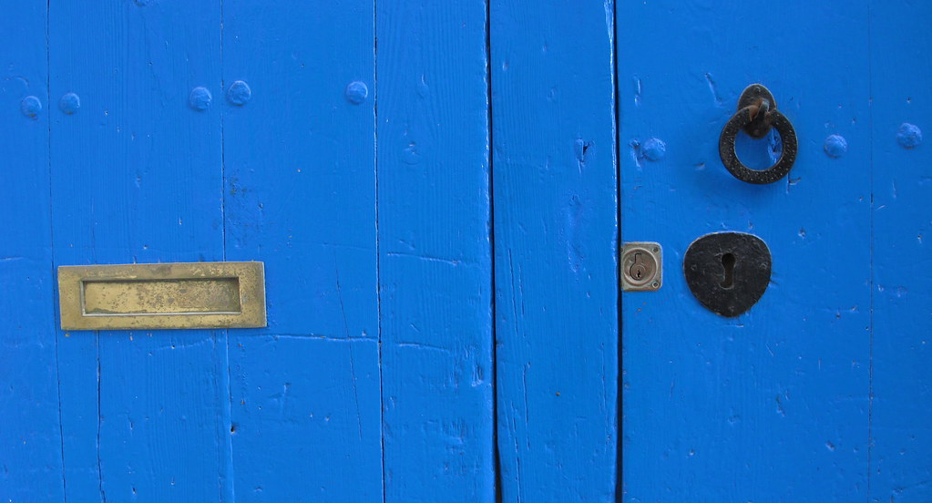 La porta blava