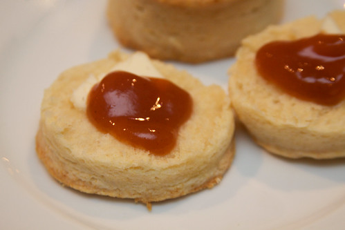 Homemade Biscuits and Peach Butter