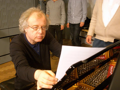 András Schiff plays Brahms in studio 80A