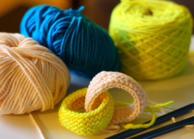 Neon Knitting